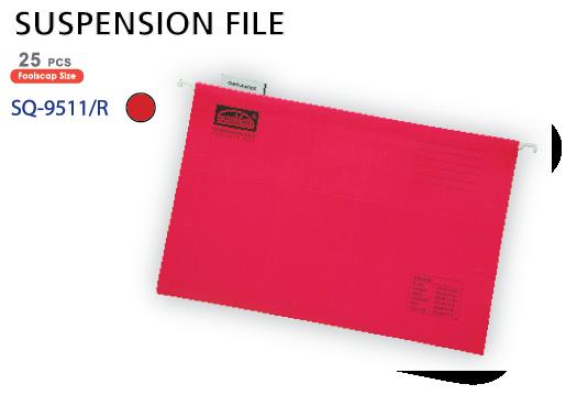 Bìa treo màu đỏ SQ-9511-R