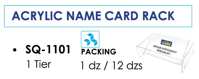 Kệ đựng card 1 ngăn SQ-1101